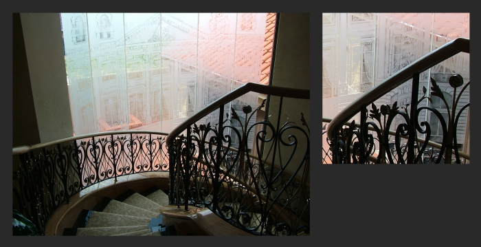 A scene from the Paris Ritz Hotel, commissioned for a home in Mosman Waters. Internal Stairway