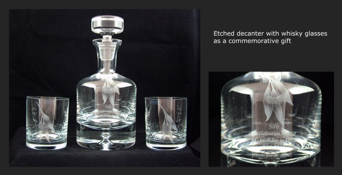 Commemorative Decanter
