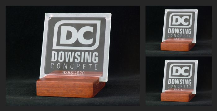 Glass Coasters - commissioned by Dowsing Concrete