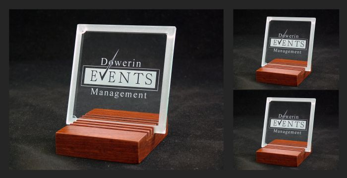 Glass Coasters - commissioned by Dowerin Events Management