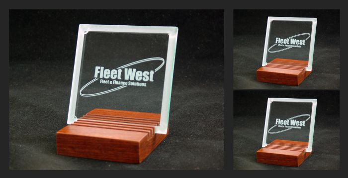 Glass Coasters - commissioned by Fleet West